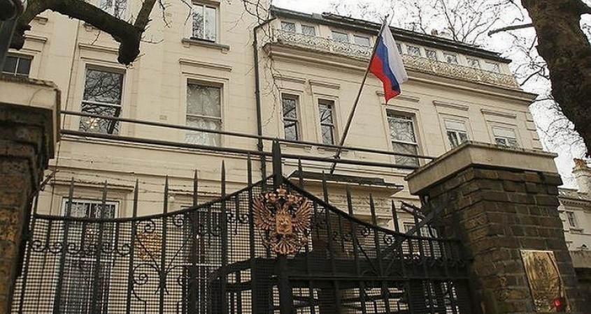 Посольство РФ в Великобритании опубликовало карту с ...  Территория Рф с Крымом